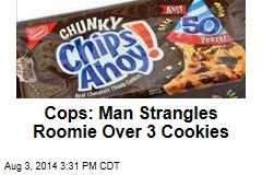 Cops: Man Tries to Kill Roomie Who Ate His Cookies