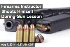 Firearms Instructor Shoots Himself During Gun Lesson