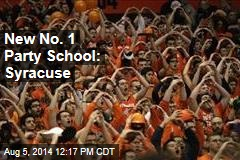 New No. 1 Party School: Syracuse