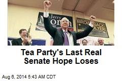 Tea Party's Last Real Senate Hope Loses