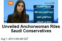 Unveiled Anchorwoman on Saudi TV Stirs Controversy