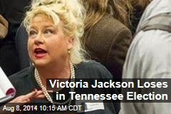 Victoria Jackson Loses in Tennessee Election