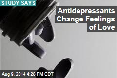Antidepressants Change Feelings of Love