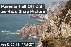 Parents Fall Off Cliff as Kids Snap Picture