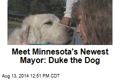 Meet Minnesota's Newest Mayor: Duke the Dog