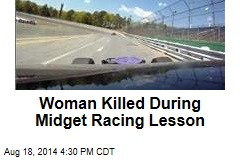Woman Killed During Midget Racing Lesson