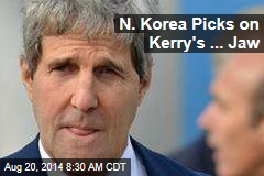 N. Korea Picks on Kerry's 'Hideous Lantern Jaw'