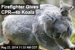 Firefighter Gives CPR—to Koala