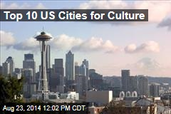 Top 10 US Cities for Culture