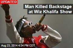 Man Killed Backstage at Wiz Khalifa Show