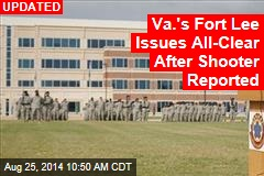 Active Shooter on Base at Va.'s Fort Lee