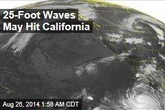 Hurricane Bringing Huge Surf to California