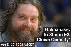Galifianakis to Star in FX 'Clown Comedy'