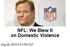 NFL: We Blew It on Domestic Violence