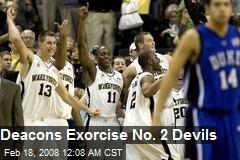 Deacons Exorcise No. 2 Devils