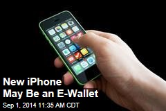 New iPhone May Be an E-Wallet
