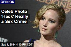 Celeb Photo 'Hack' Really a Sex Crime