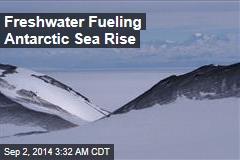 Freshwater Fueling Antarctic Sea Rise