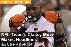 NFL Team's Classy Move Makes Headlines