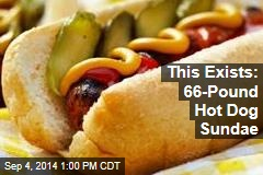 This Exists: 66-Pound Hot Dog Sundae