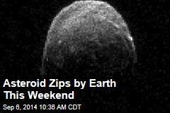 Asteroid Zips by Earth This Weekend