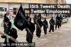 ISIS Tweets: Death to Twitter Employees