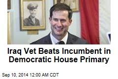 Iraq Vet Beats Incumbent in Democratic House Primary