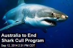 Australia to End Shark Cull Program