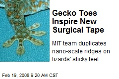 Gecko Toes Inspire New Surgical Tape