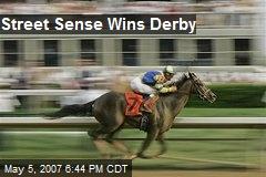 Street Sense Wins Derby