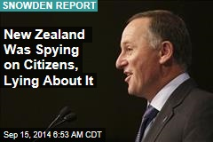 New Zealand Was Spying on Citizens, Lying About It