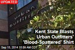 Urban Outfitters Hawking $129 'Blood-Spattered' Kent State Shirt