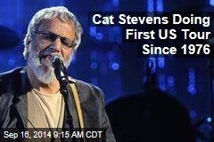 Cat Stevens Doing First US Tour Since 1976