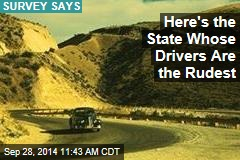 Here's the State Whose Drivers Are the Rudest