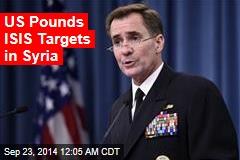Pentagon: We've Begun Strikes on Syria