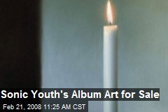Sonic Youth's Album Art for Sale