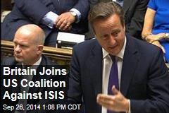 Britain Joins US Coalition Against ISIS
