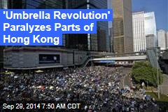 Riot Cops Called Off as Hong Kong Protests Spread