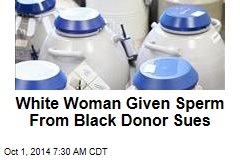 White Woman Given Sperm From Black Donor Sues