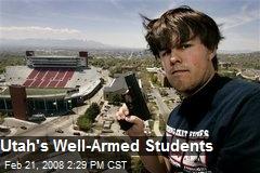 Utah's Well-Armed Students