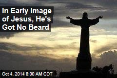 In Early Image of Jesus, He's Got No Beard