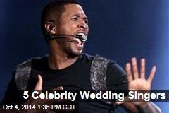5 Celebrity Wedding Singers