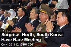 Surprise: North, South Korea Have Rare Meeting