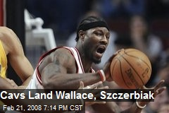 Cavs Land Wallace, Szczerbiak