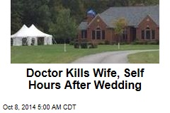 Doctor Kills Wife, Self Hours After Wedding