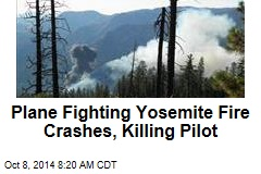 Plane Fighting Yosemite Fire Crashes, Killing Pilot