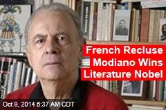 French Recluse Modiano Wins Literature Nobel