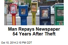 Man Repays Newspaper 54 Years After Theft