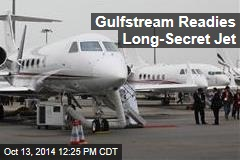 Gulfstream Readies Long-Secret New Business Jet