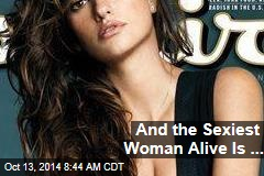 And the Sexiest Woman Alive Is...